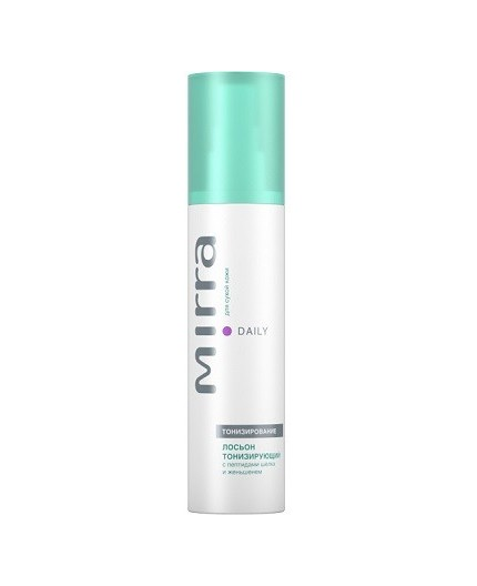 Tonic Lotion for Dry Skin with Silk Peptides and Ginseng