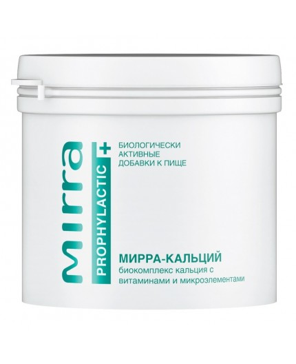 MIRRA-CALCIUM Biologically Active Calcium Formula with Vitamins and Trace Elements